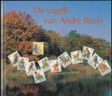 "Book ""De Vogels Van Andre Buzin"" Text Van Roger Arnhem Bruxelles, 1992 RRR, Without Stamps Set!!! - Andere"