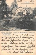 BADEN BADEN LICHTENTHAL GERMANY~VILLA ILSE An Der LICHTENTHALER ALICE~1904 POSTCARD - Baden-Baden