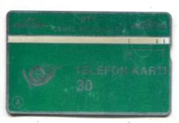 TK 13756 TURKEY - L&G PTT 30 - Reverse T.C. Ziraat Bankasi 910C... - Turkije