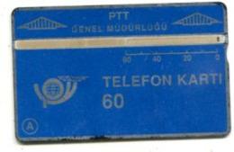 TK 13759 TURKEY - L&G PTT 60 - Blank Reverse 904A... - Turkije