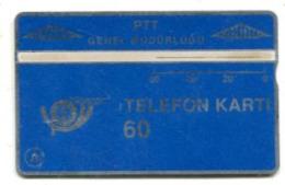 TK 13760 TURKEY - L&G PTT 60 - Blank Reverse 906D... - Turkije
