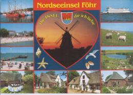 AK-72364    Nordseeinsel Föhr - Mehrbild (11) - Föhr