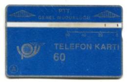 TK 13761 TURKEY - L&G PTT 60 - Reverse  T.C. Ziraat Bankasi 908C... - Turkije