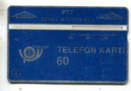 TK 13763 TURKEY - L&G PTT 60 - Blank Reverse  002A... - Turkije