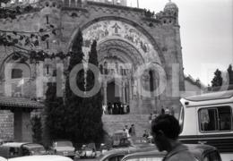 1965 VESPA SCOOTER SIDE CAR ESPANA SPAIN ESPAGNE AMATEUR 35mm ORIGINAL NEGATIVE Not PHOTO No FOTO - Photography