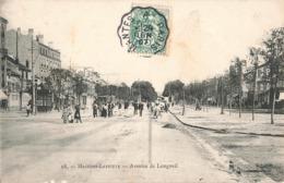 78 Maisons Laffitte Avenue De Longueil Tram Tramway Cachet Convoyeur Ambulant 1907 Mantes Paris - Maisons-Laffitte