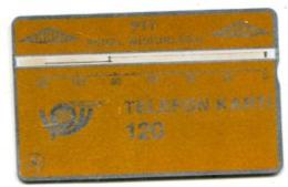 TK 13768 TURKEY - L&G PTT 120 - Reverse  T.C. Ziraat Bankasi 911D... - Turkije