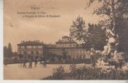 PARMA SCUOLA CENTRALE DI TIRO E GRUPPO DI SILENO DI BONDARD 1905 - Parma