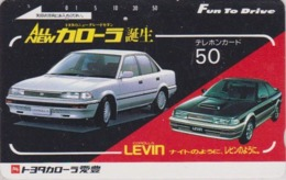 Télécarte Japon / 290-1682 - Voiture TOYOTA - CAR Japan Phonecard - Auto Telefonkarte - 3371 - Cars