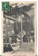 CPA De  LE CREUSOT  (71) -  Usine  Schneider  -  Presse De 6 000 Tonnes à Cintrer Les Plaques De Blindage   //   TBE - Le Creusot