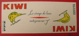 Buvard Kiwi Le Cirage De Luxe, L'encaustique. PPZ. - Buvards, Protège-cahiers Illustrés
