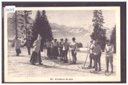 DISTRICT D'AIGLE - VILLARS - PARTIE DE SKI - TB - VD Vaud