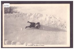 DISTRICT D'AIGLE - VILLARS - PISTE DE LUGE - TB - VD Vaud