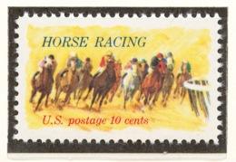United States 1974 Mi# 1135** HORSE RACING - Unused Stamps