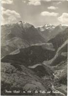 W5314 Posta (Rieti) - La Valle Del Velino - Panorama / Viaggiata 1964 - Italië