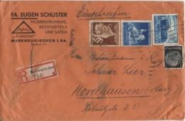 DR Mi-Nr 767+768+771 /Leipziger Messe + Wiener FrühjahrsMesse,  Echt Gelaufener Portogerecht-frankierter R-Brief - Poststempel - Freistempel