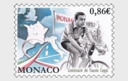 Monaco 2019 - Centenary Of The Birth Of Fausto Coppi Mnh - Monaco