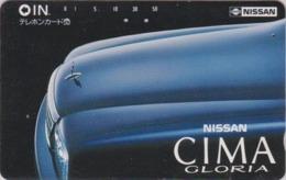 Télécarte Japon / 110-37433 - Voiture - NISSAN Cima Gloria  - CAR Japan Phonecard - Auto Telefonkarte - 3379 - Cars