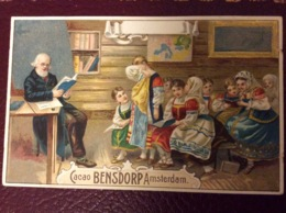 Cacao Bensdorp - Teaching Scene - Chocolat