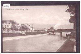 DISTRICT D'YVERDON - YVERDON - TRAIN SUR LE PONT DE LA THIELE - BAHN - TB - VD Vaud