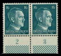 3. REICH 1941 Nr 790 Postfrisch WAAGR PAAR URA X78015E - Ungebraucht