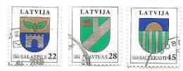 Latvia - 2008 Logo Lokal City Salaspils ;Saulkrasti;Plavinas - USED (0) - Latvia