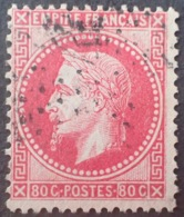 R1568/125 - NAPOLEON III Lauré - N°32d Rose Vif - 1863-1870 Napoléon III. Laure