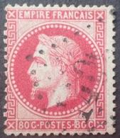 R1568/127 - NAPOLEON III Lauré - N°32a Rose Carminé - 1863-1870 Napoleone III Con Gli Allori