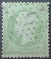 R1568/128 - NAPOLEON III - N°20 - ETOILE De PARIS N°9 ☛ Avec Signe De Position Sous Le 9 (P2) - 1862 Napoléon III