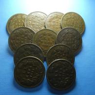 Portugal 11 Coins XX Reis 1883 - Münzen & Banknoten