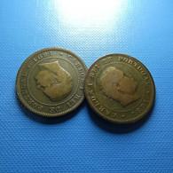 Portugal 2 Coins 10 Reis 1891 - Münzen & Banknoten