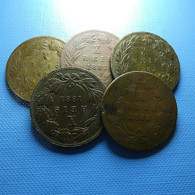 Portugal 5 Coins X Reis 1882 - Kilowaar - Munten
