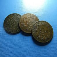 Portugal 3 Coins X Reis 1885 - Kilowaar - Munten