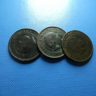 Portugal 3 Coins 5 Reis 1890 - Münzen & Banknoten
