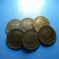 Portugal 6 Coins 5 Reis 1904 - Kilowaar - Munten