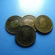 Portugal 4 Coins 5 Reis 1893 - Kilowaar - Munten