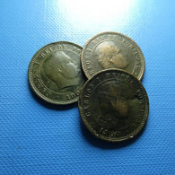 Portugal 3 Coins 5 Reis 1900 - Mezclas - Monedas