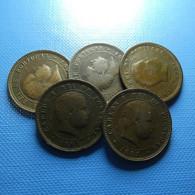 Portugal 5 Coins 5 Reis 1891 - Kilowaar - Munten