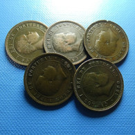 Portugal 5 Coins 5 Reis 1899 - Kilowaar - Munten