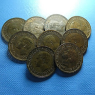 Portugal 9 Coins 5 Reis 1910 - Kilowaar - Munten