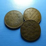 Portugal 3 Coins V Reis 1884 - Monnaies & Billets