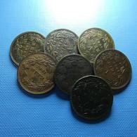 Portugal 7 Coins V Reis 1883 - Münzen & Banknoten
