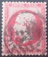 R1571/41 - NAPOLEON III N°24 - CàD - 1862 Napoléon III