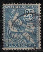 ALEXANDRIE           N°     YVERT    27 ( 2 )   OBLITERE       ( Ob  5/45 ) - Gebraucht