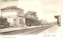 60 - Orry La Ville - La Gare - Frankrijk