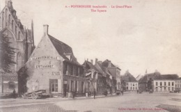 Poperinghe (1914-1918) - Le Grand'Place - Poperinge