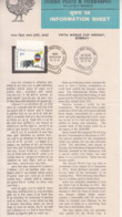 Stamped Info.,  World Cup Hockey 1981, India, Sport - Rasenhockey