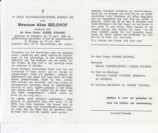 Aline Geldhof (1895-1974) - Images Religieuses