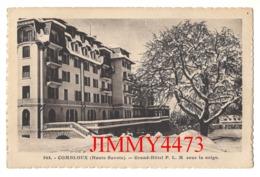 CPA - COMBLOUX 74 Haute Savoie - Grand Hôtel P.L.M. Sous La Neige - N° 944 - Phot.-Edit. L. Morand Megève - Combloux