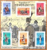 """2004  Bloc Neuf """" Napoléon  & La Garde Impériale - Sheetlets"""